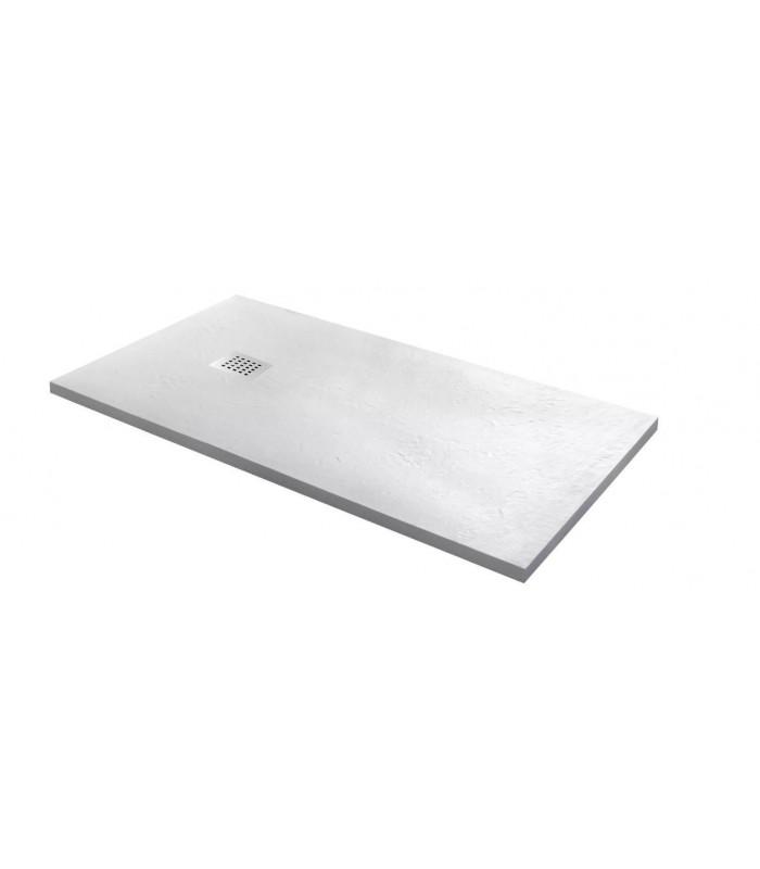 piatto doccia in marmoresina bianco 80 x 160 h2,5 rettangolare ap shop online