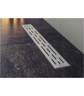 griglia canale sifone piletta a pavimento confluo ergo in acciaio inox 40 cm doccia ap shop online
