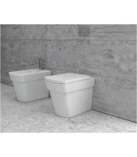 coppia sanitari bagno vaso e bidet filomuro scarico a parete o terra moderni ap shop online