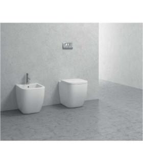 coppia sanitari filomuro in ceramica scarico a parete o pavimento legend ap shop online