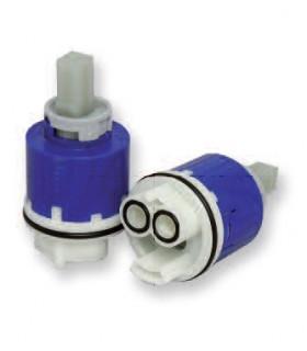 """Cartucce ceramiche  modello KEROX KN42D, tipo """"LUSSO"""", per rubinetterie FIMA"""