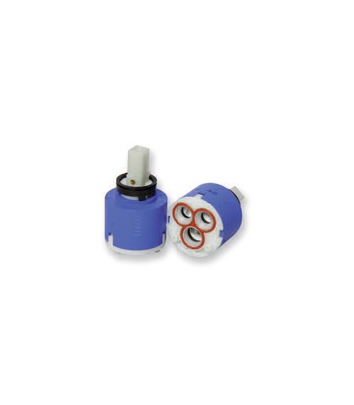 Cartucce ceramiche  modello MIX BK40-AP per rubinetterie F.lli Porta