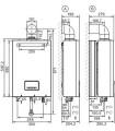 SCALDABAGNO A GAS ISTANTANEO CAMERA STAGNA HERMANN SAUNIERDUVAL OPALIA F12/1 LRT LOW NOX C/KIT FUMI ALIMENTAZIONE GPL - 2